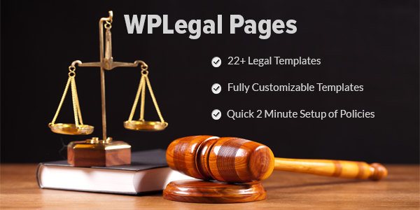 WPLegalPages - WordPress Privacy Policy Generator Plugin