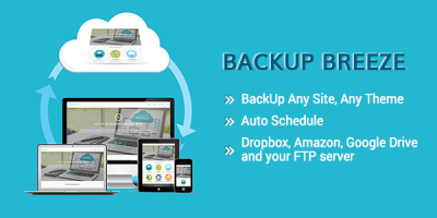 backup breeze wordpress plugin