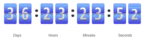 WP Time Counter - WordPress Countdown plugin