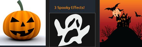 3 spooky effects WP Halloween