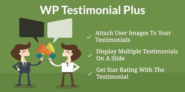 WordPress testimonial plugin