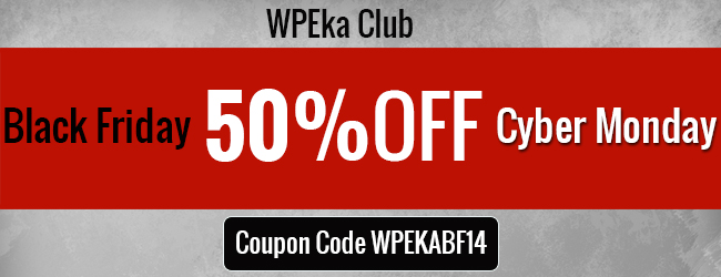 WPEka club 50% coupon code