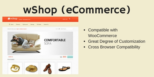 wShop (eCommerce)