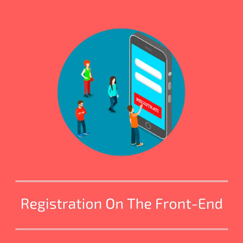 Registration form for profile plus