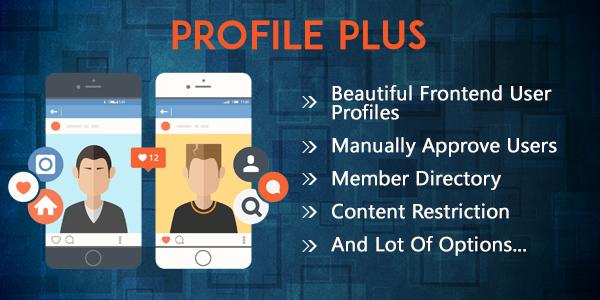 profile plus wordpress plugin