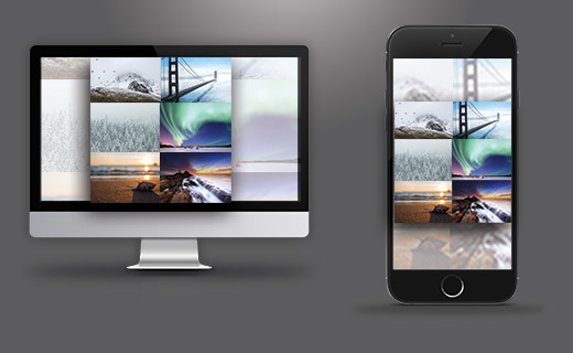 Responsive Collages