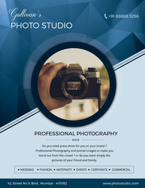 Business flyer templates for photographers to promote business business flyer template photographer 1 wajeb Image collections