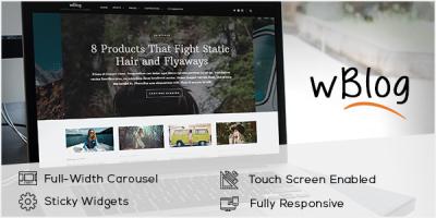 WordPress Theme For Blogs